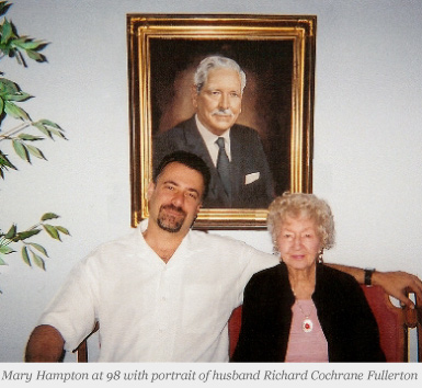 John Fullerton, MD with grandmother Mary Hampton